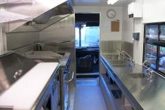 Concession Truck photo - kitchen rear view